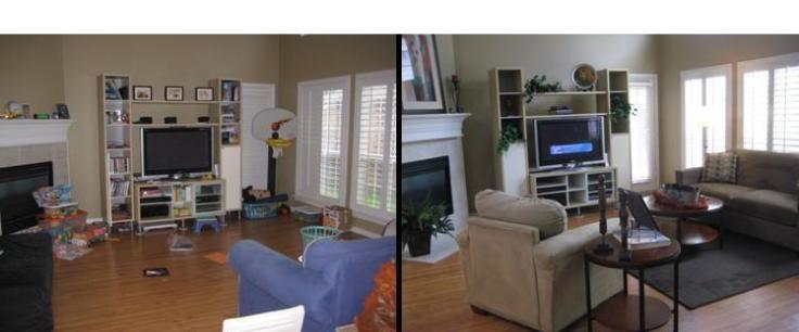 home staging antes y después